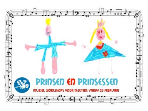 muzikale prins en prinses