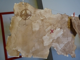 oude schatkaart