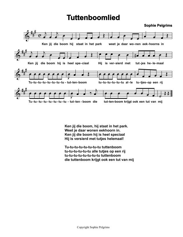 tuttenboom lied 2014
