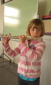fluit spelen