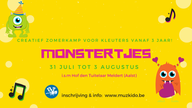 Monstertjes banner
