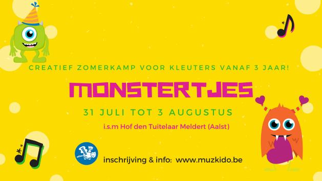 Monstertjes banner